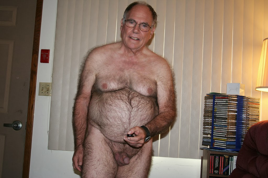silver daddys london - hairy senior - hairy silver dad