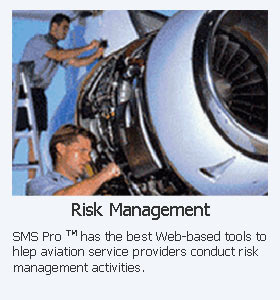 Risk Management SMS Pillar for ICAO compliant safety programs