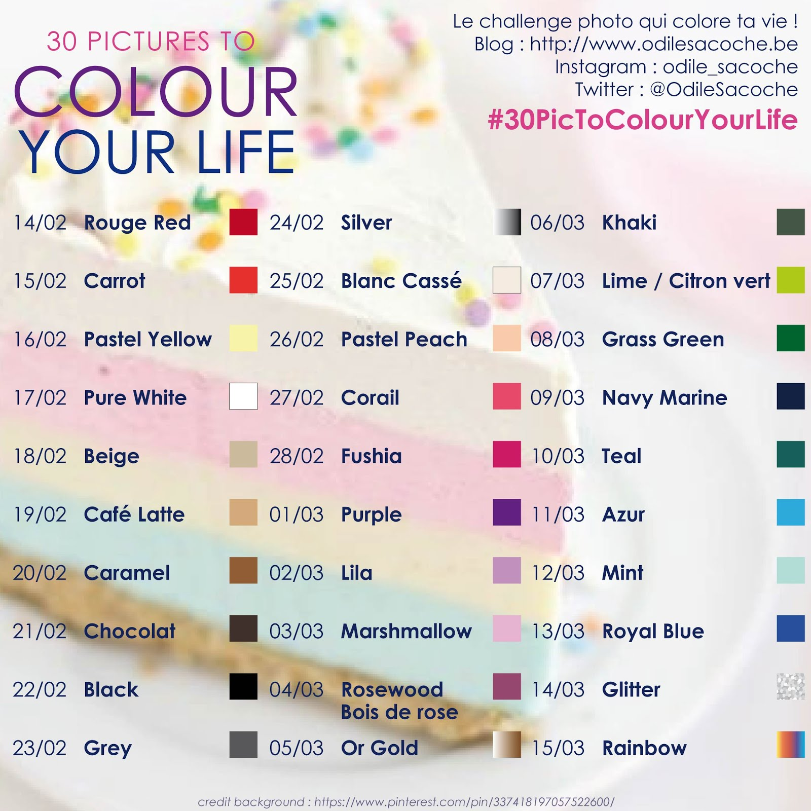 30 Pictures to Colour Your Life