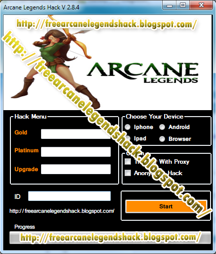 released latest arcane legends hack gold platinum and upgrades hack