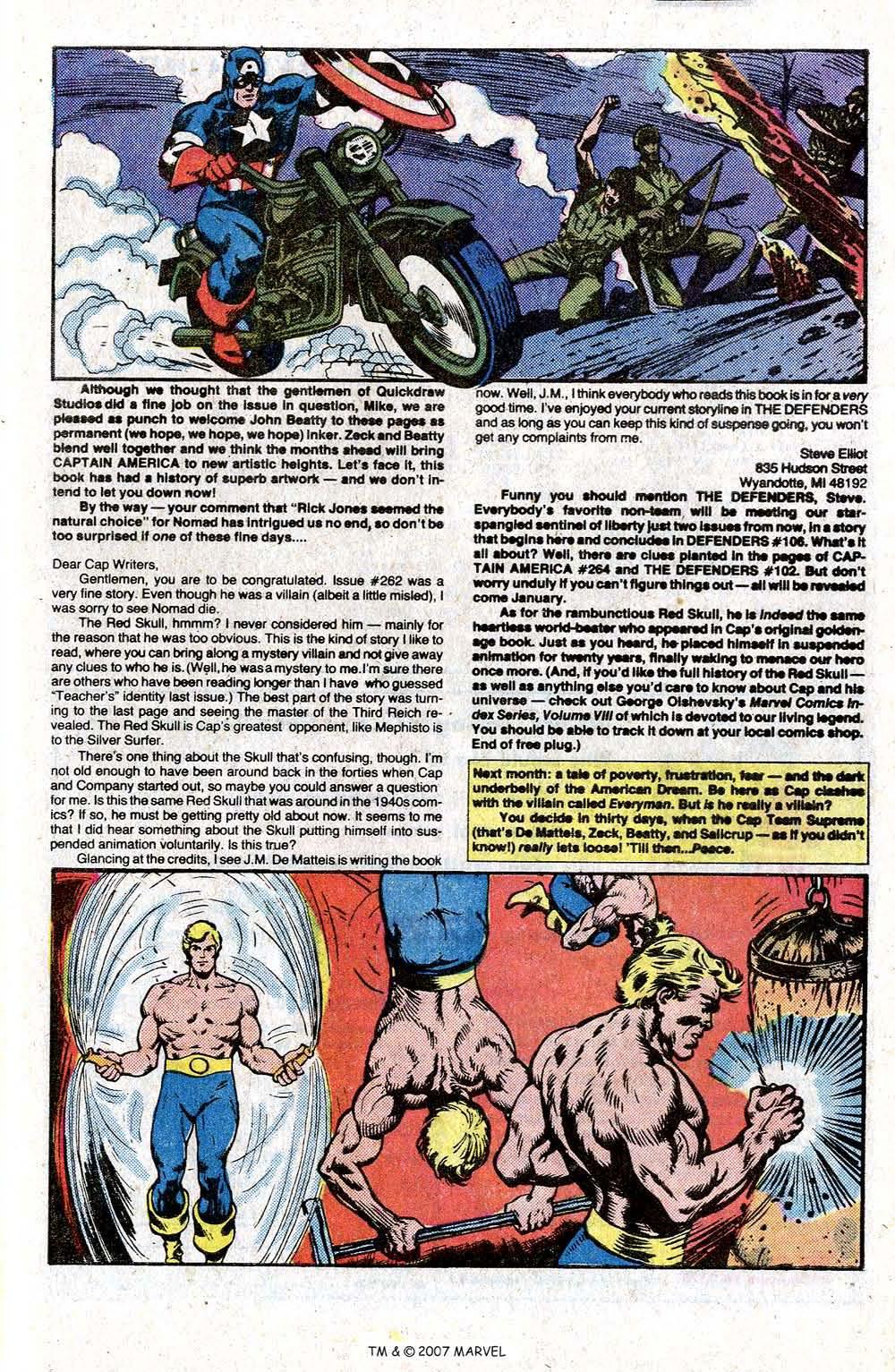 Captain America (1968) Issue #266 #181 - English 33