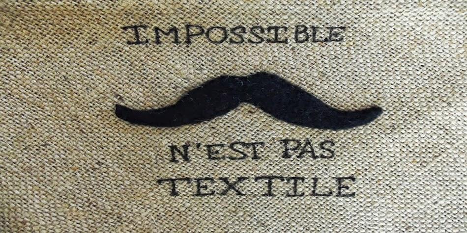 Impossible n'est pas textile