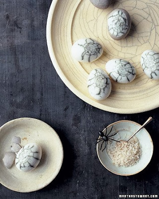 Martha Stewart Spider Eggs Appetizer