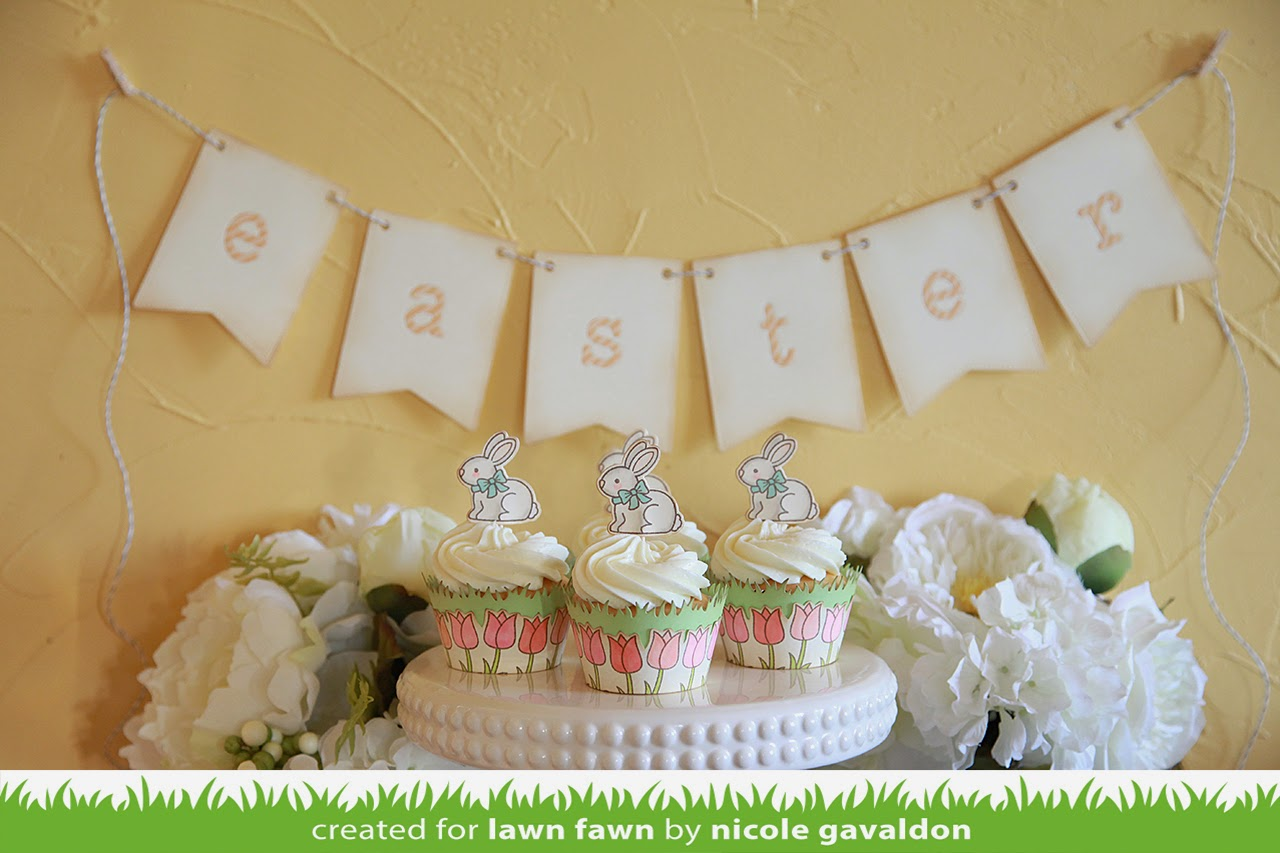 Lawn Fawn February Inspiration Week--Eggstra Special Easter