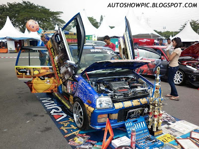 Modified Kancil Autoshow Car