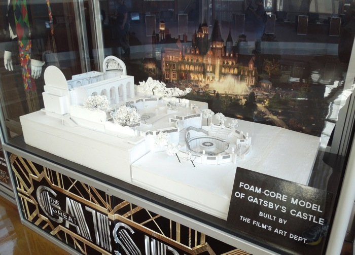 Great Gatsby castle production model