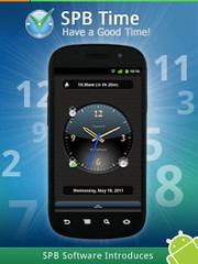 SPB Time, Useful Alarm and Clock App released for Android