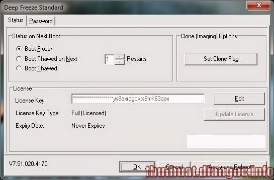 Download Deep Freeze 7 Full Crack – Phần mềm đóng băng ổ cứng tốt nhất win 7,8 XP