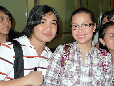 with Lea Salonga after God of Carnage
