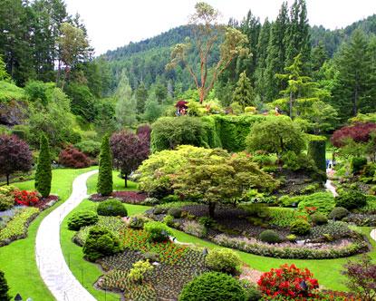 12 FOTO ] Taman Bunga Paling Indah Dan Cantik Di Dunia
