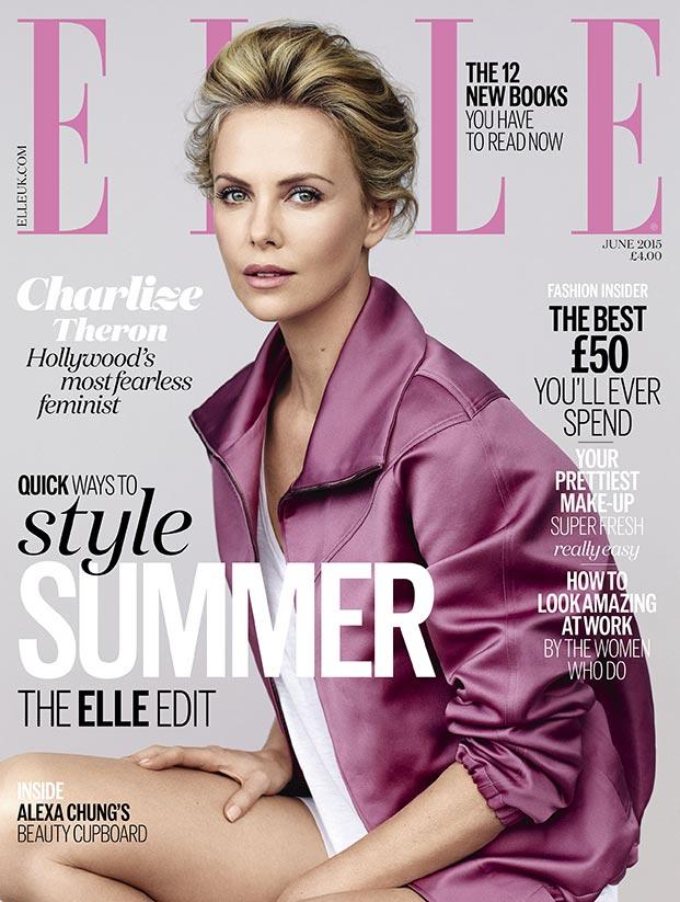 Magazine Covers June 2015 June 2015 Cover of Elle uk