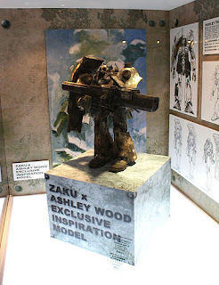 Zaku x Assley Wood Exclusive Inspiration Model