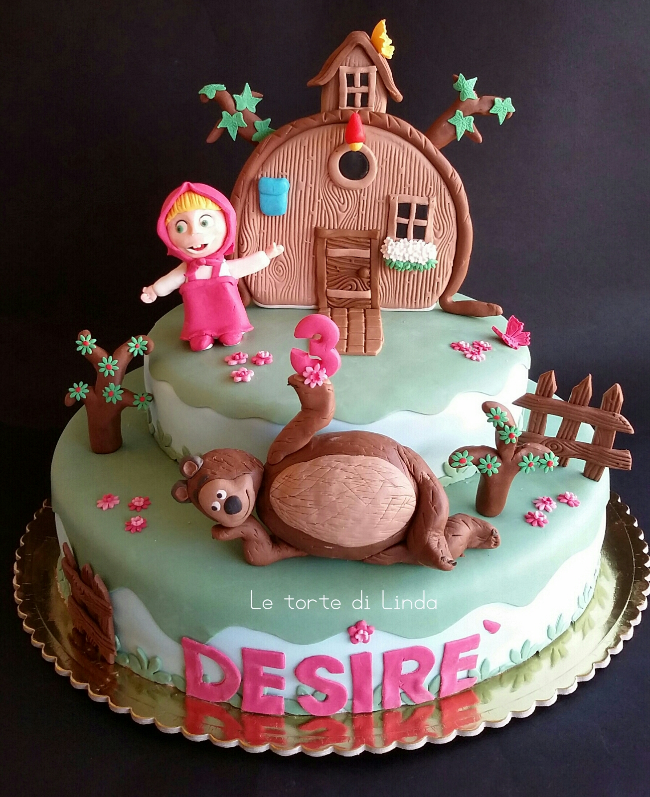 Le Torte Di Linda Torta Masha E Orso