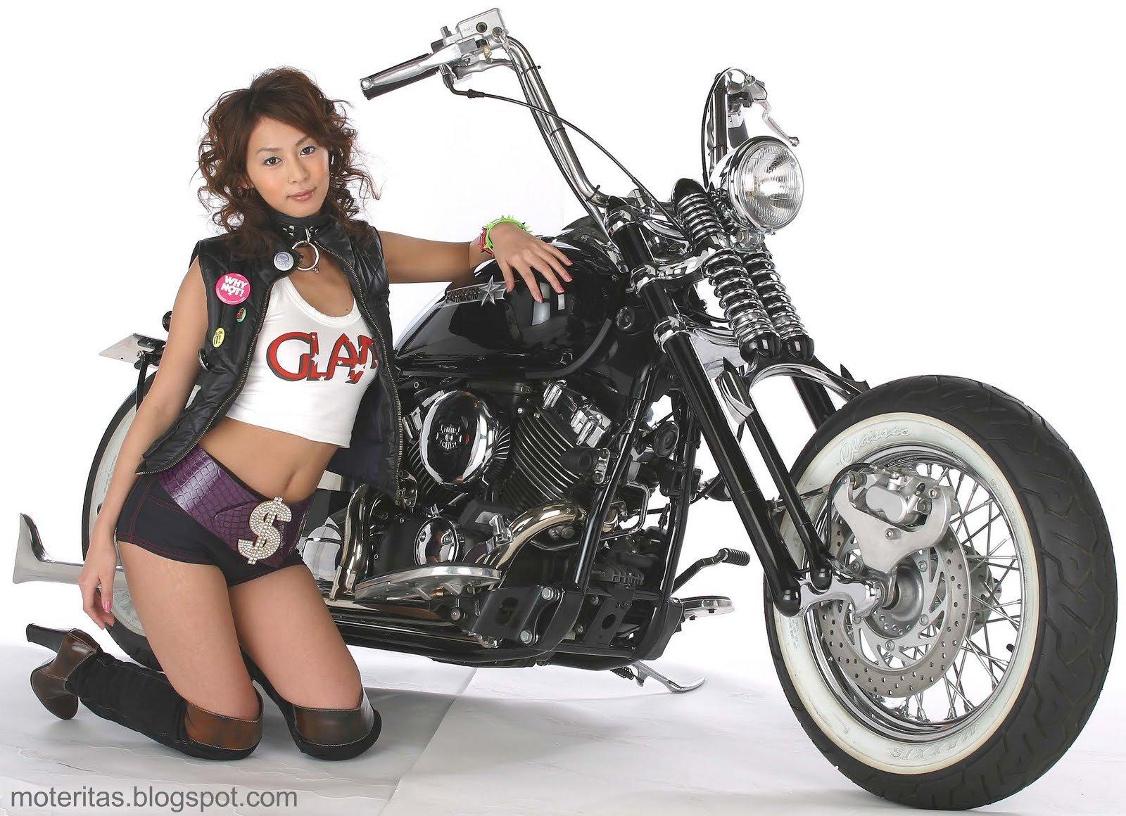 Motos Chavas Bobber Custom Wallpaper