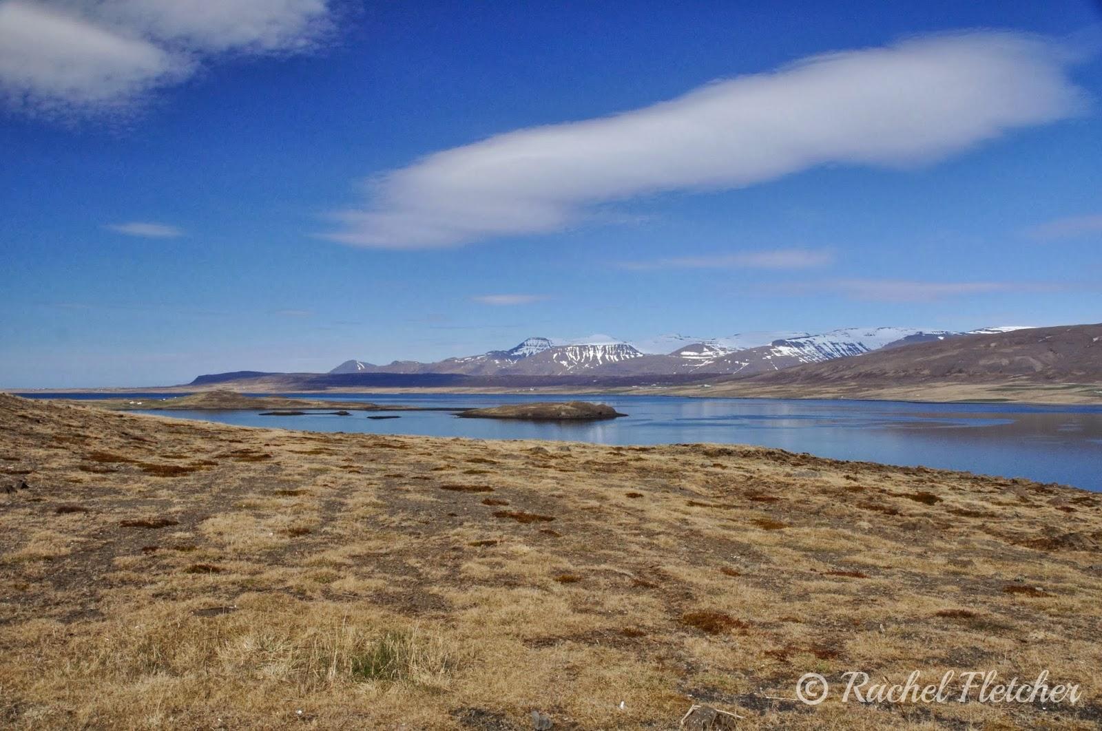 Scenery outside Reykjavik