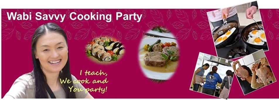 Wabi Savvy Cooking Party
