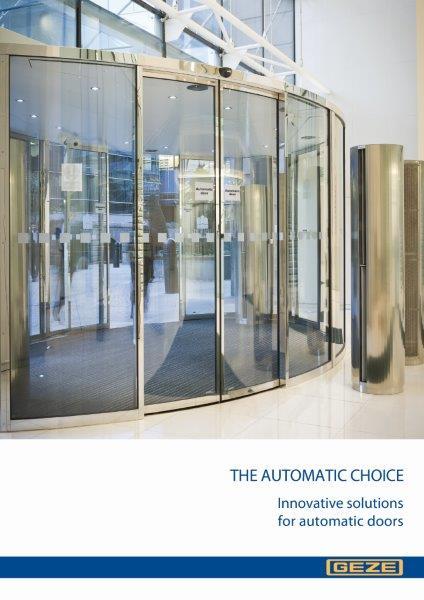 GEZE UK is u0027The Automatic Choiceu0027 & The Door Industry Journal: GEZE UK is u0027The Automatic Choiceu0027