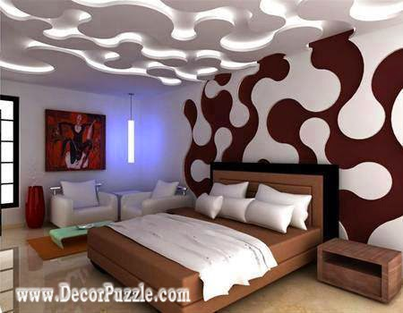 Top ideas for led ceiling lights for false ceiling designs - False ceiling design for bedroom ...