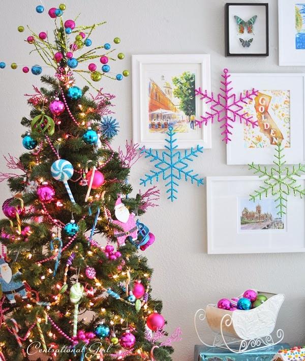 arboles de navidad decorados con dulces - Rboles De Navidad Decorados