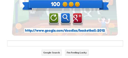 google doodle basketball cheat