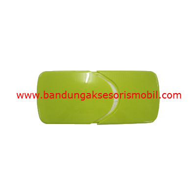 Box Tissue Plastik Exclusive Green