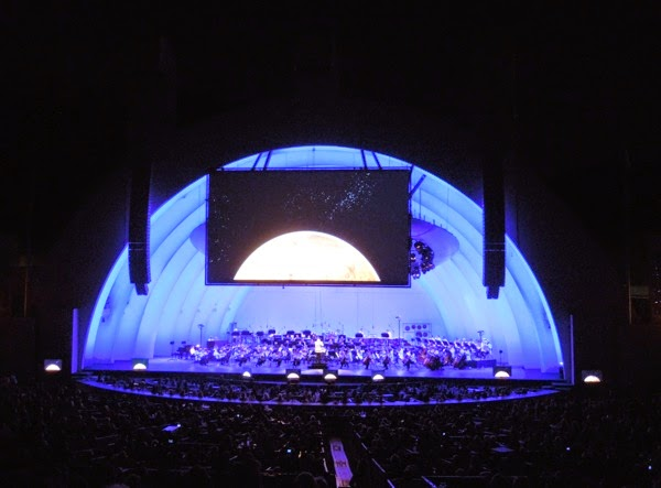 Hollywood Bowl Holst's Planets Concert 2014