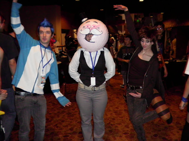 Regular show Cosplay por greengal14