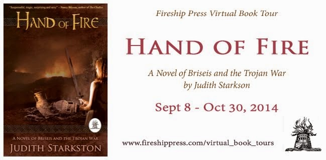 Hand of Fire Blog Tour 2014