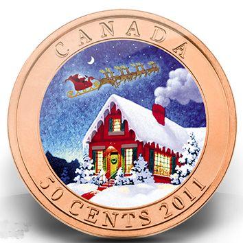 Christmas coin 2011