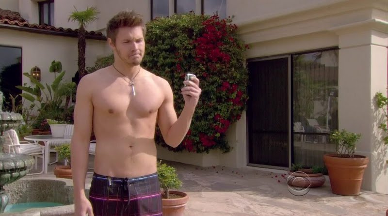 Scott Clifton Shirtless in the Bold and the Beautiful 20120411