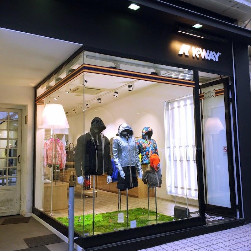 boutique K-way bordeaux