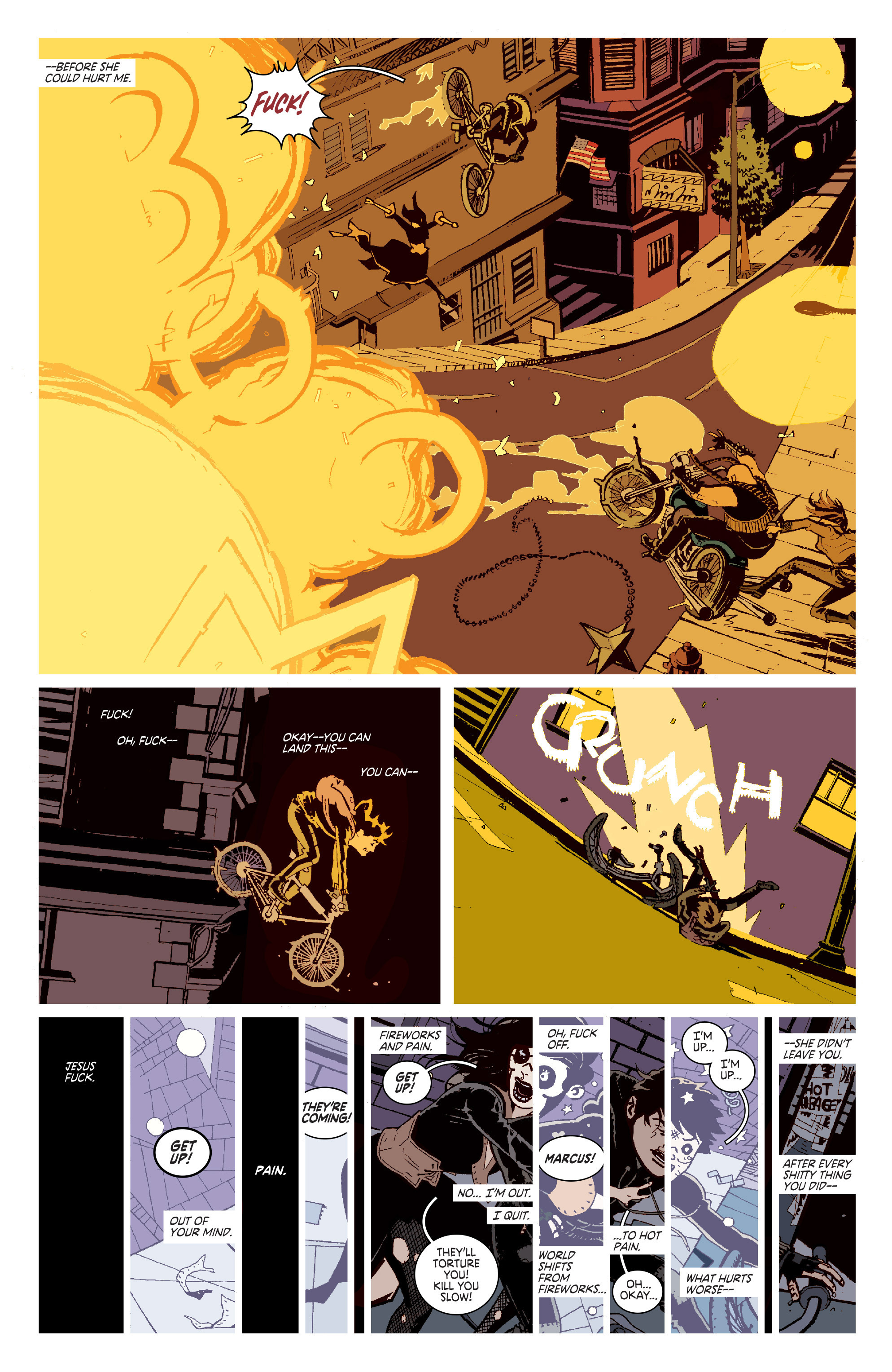 Read online Deadly Class comic -  Issue # _TPB 3 - 16