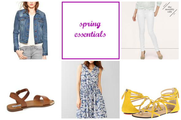 5 Spring Essentials | www.shealennon.com