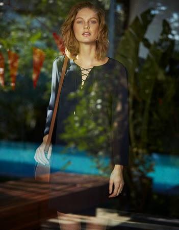 moda Massimo Dutti mujer vestido primavera verano 2015