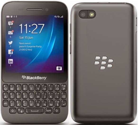 Liberar Blackberry Q5