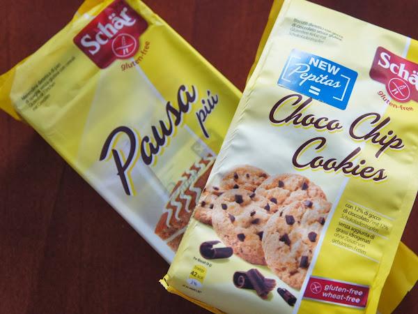 Choco Chip Cookies und Pausa Piu von Schär