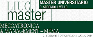 Master in Meccatronica e management