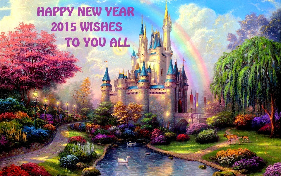 New year Cinderella wallpaper for kids