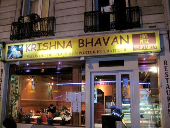 Vegan montr al paris krishna bhavan for Krishna bhavan paris