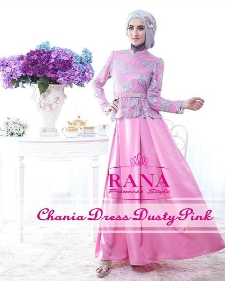 Koleksi baju muslim untuk pesta modern Baju gamis pesta muslim