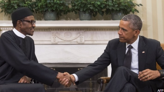 Buhari meets Obama (photos)
