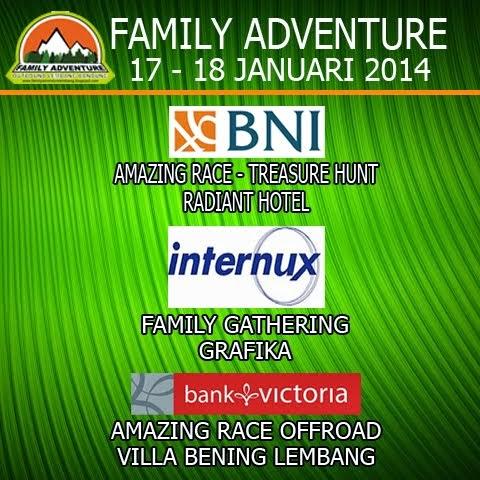 AMAZING RACE - FAMILY GATHERING LEMBANG BANDUNG
