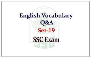 English Vocabulary Questions and Answer for SSC CGL Exam 2015