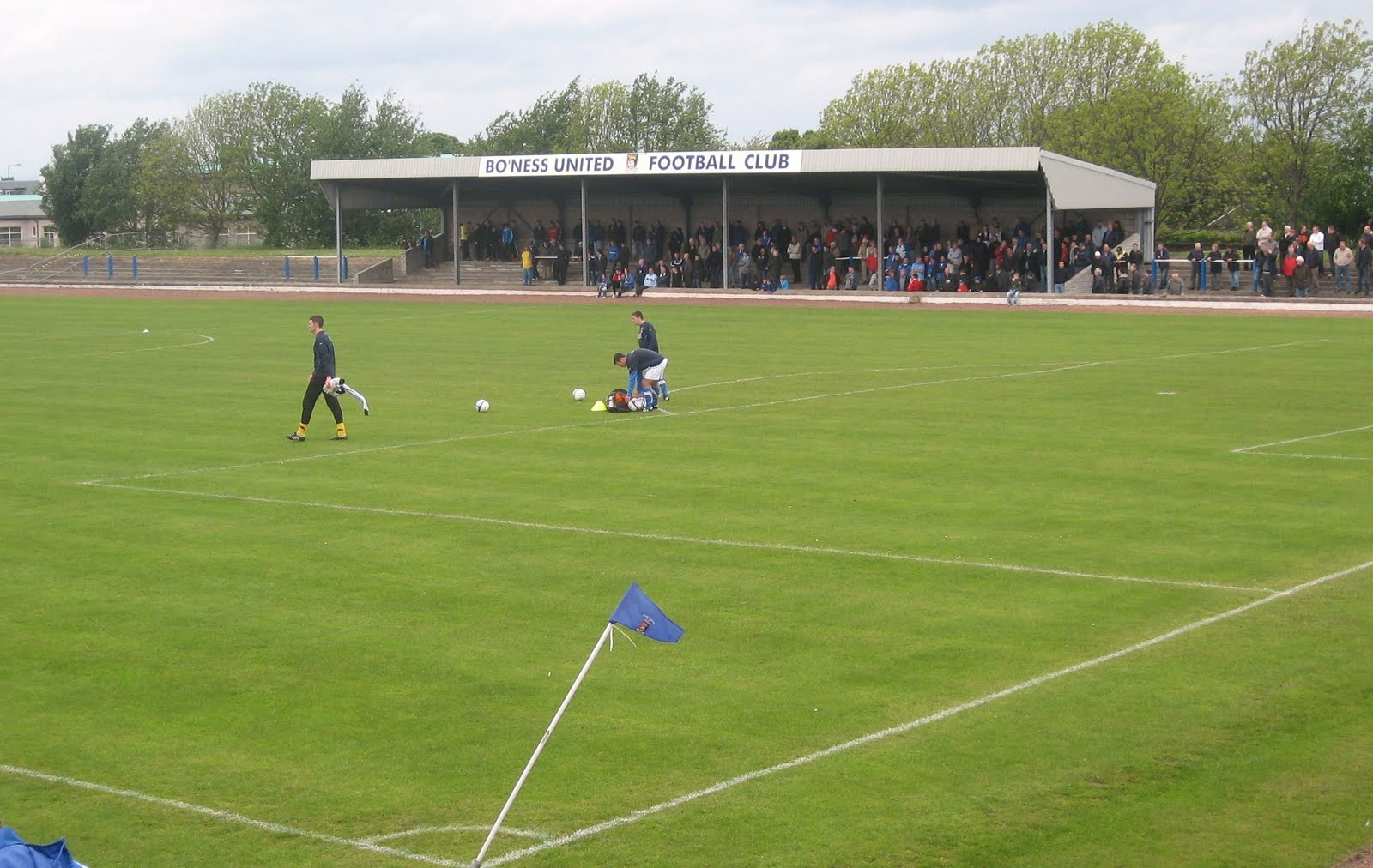Bo'ness United Kingdom  City new picture : ... home of Bo'ness United for the big local derby with Linlithgow Rose