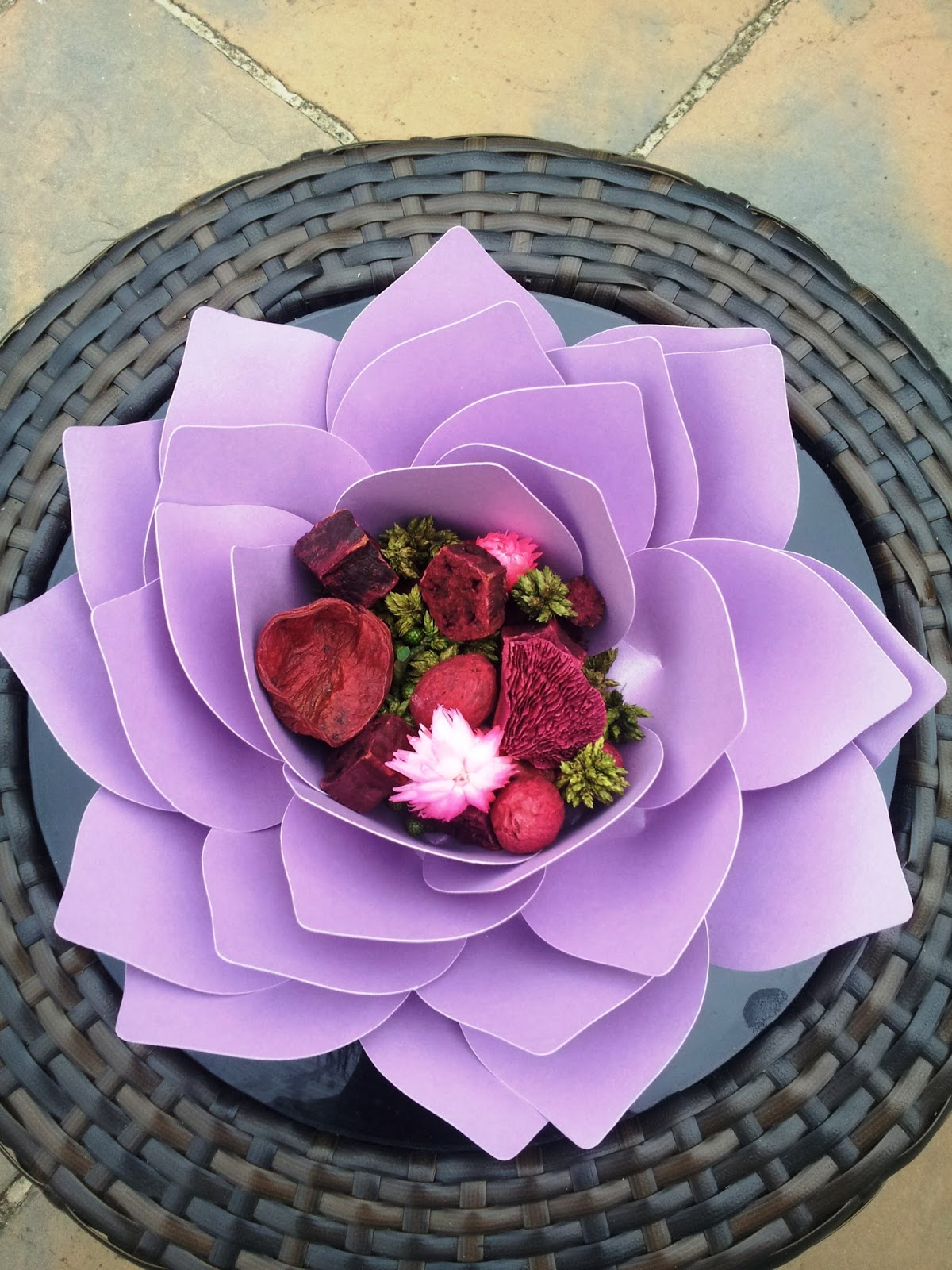 Paper Lotus Flower Template Yelomphonecompany