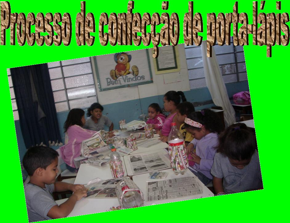 Biblioteca escolar do jk oficina com papel jornal for Papel oficina