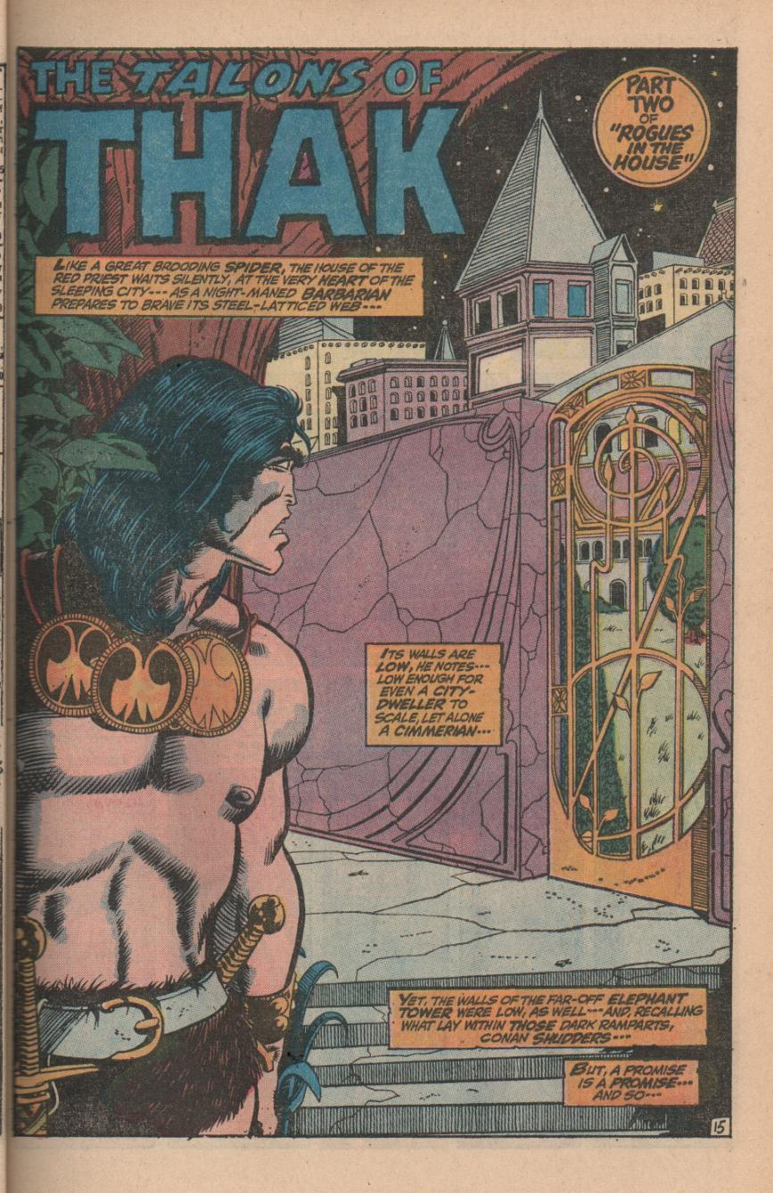 Conan the Barbarian (1970) Issue #11 #23 - English 21