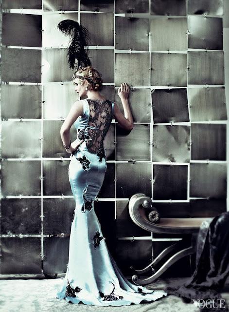 haute couture poetique soie vintage