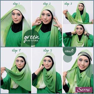 Cara Pakai Jilbab Style Go Green