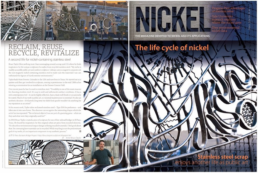 Nickel Magazine 2014 Front & Back Covers